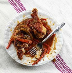Haitian Stewed Chicken Recipe - Saveur.com http://www.saveur.com/article/Recipes/Poulet-Creole