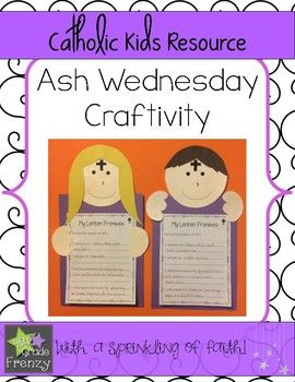 These easy to make Ash Wednesday Crafts will make an eye catching hallway display in your Catholic School!