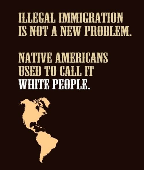 """Unless you're of Native American descent, it's probably best to shut it. As Newt Gingrich put it, """"I don't see how the party that says it's the party of the family is going to adopt an immigration policy which destroys families."""""""