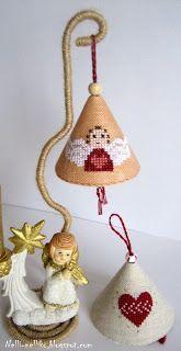 idea for making cross stitch ornament (no info)