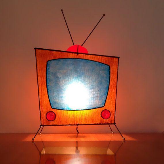 MOD Pop Art Retro TV Novelty Light Atomic by FireflyVintageHome, $150.00