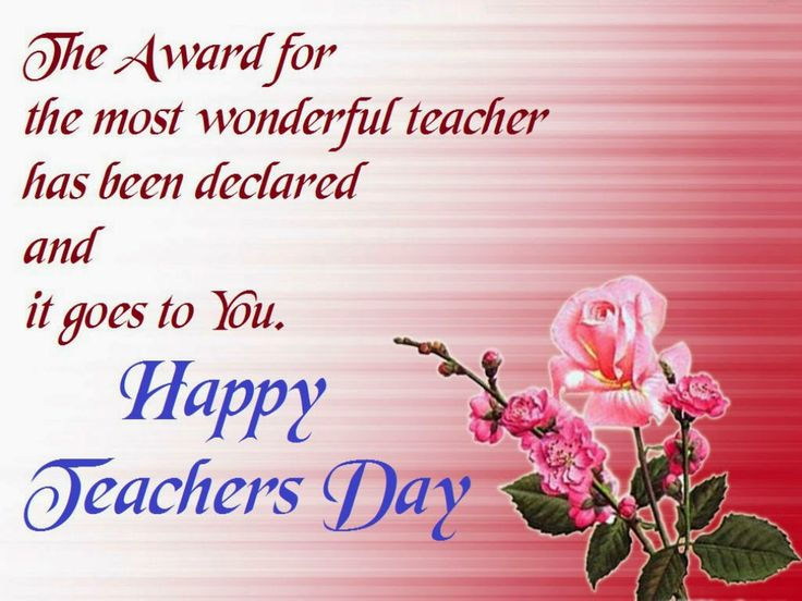 For all the teachers and educators