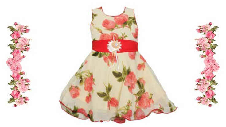 Top 10 New Fancy Cotton Baby Frock Designs 2017 - Kids Frock Designs/Images of New Styles for Kids!