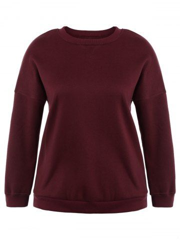 GET $50 NOW | Join RoseGal: Get YOUR $50 NOW!http://www.rosegal.com/plus-size-hoodies/plus-size-drop-shoulder-pullover-1001437.html?seid=2275071rg1001437
