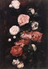 Roses - Nicolae Grigorescu romanian impresionist painter