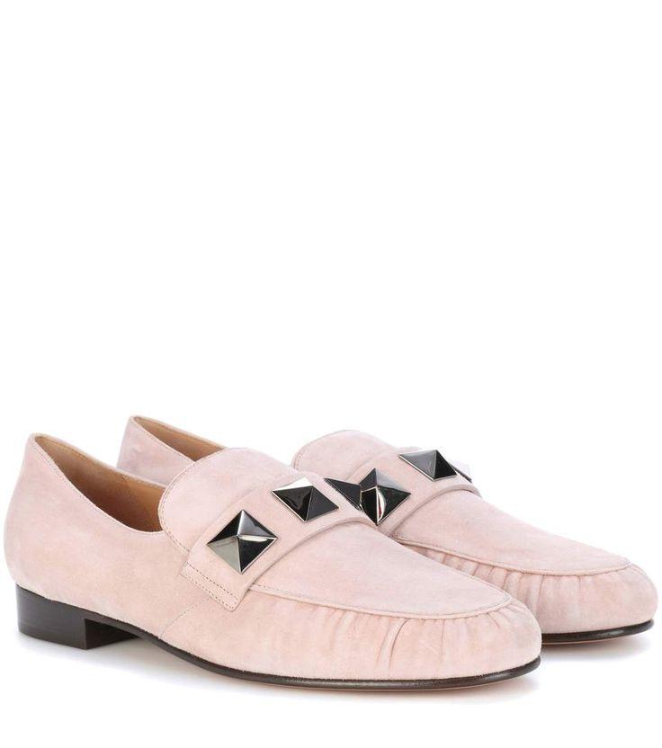 VALENTINO Valentino Garavani Suede Loafers. #valentino #shoes #loafers