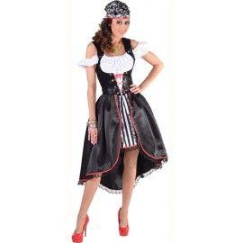 Déguisement pirate femme luxe