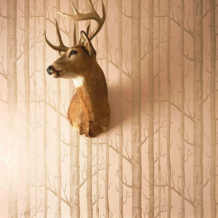 Cole & Son Whimsical_Woods 103_5024 Cole & Son behang wallpaper behangpapier behang woonkamer behang slaapkamer interieur design sfeer foto's lifestyle inspiratie