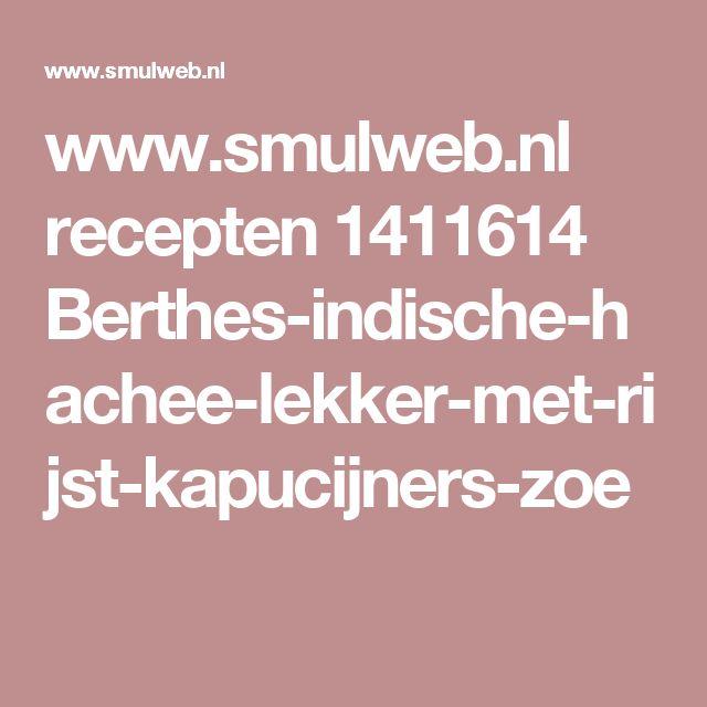 www.smulweb.nl recepten 1411614 Berthes-indische-hachee-lekker-met-rijst-kapucijners-zoe