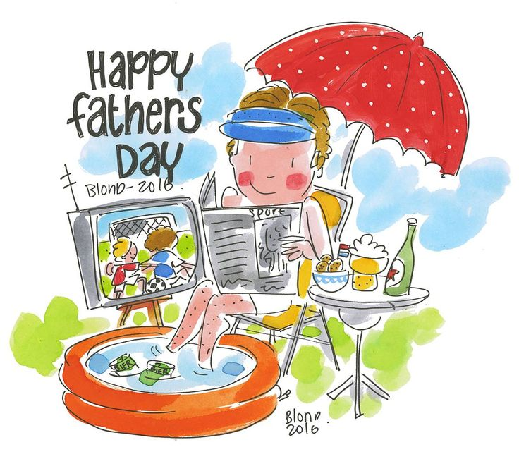 Happy fathers day by Blond-Amsterdam