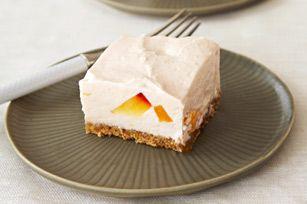 Cheesecake PHILADELPHIA de duraznos y crema sin hornear Receta - Comida Kraft