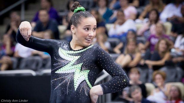 Gymnast of the Week: National Team Member Amelia Hundley ...