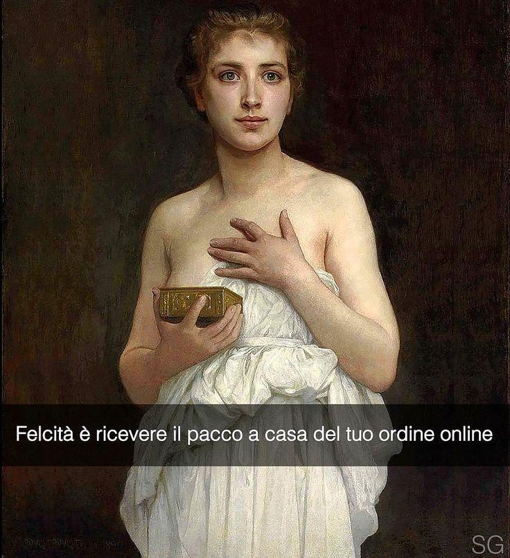 Aggiungimi su Snapchat: stefanoguerrera Pandora - William Bouguereau (1890) #seiquadripotesseroparlare #stefanoguerrera