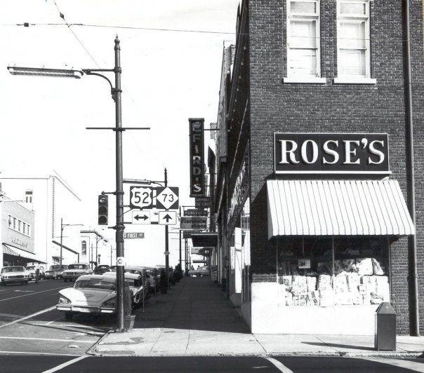 Rose S Department Store Albemarle My Family History North Carolina History