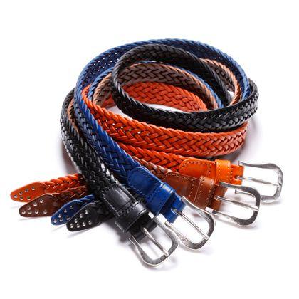 AMBOISE (Amboise) mesh belt (smooth leather) | BRONLINE