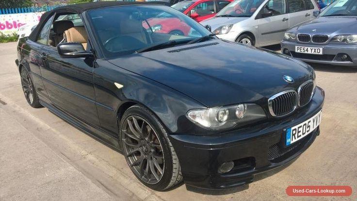 2005 BMW 320 CI M SPORT BLACK CONVERTIBLE - LONG MOT ALPINE CD #bmw #320 #forsale #unitedkingdom