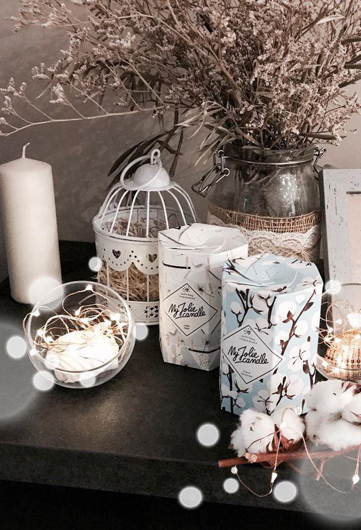 Bougie Bijou Collier Parfumee Fleur De Coton My Jolie Candle