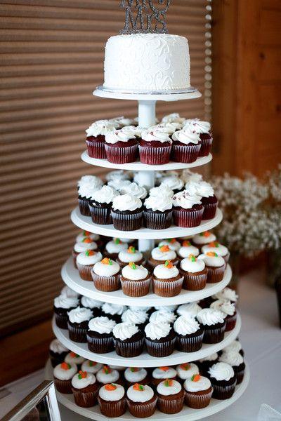 Purple Minnesota Summer Wedding Cupcakes Pinterest