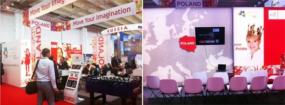 Poland stand at IMEX Frankfurt 2012