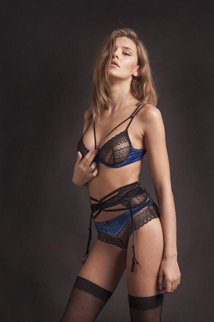 25th Hour velvet  lingerie  Бархатное нижнее белье от 25th Hours