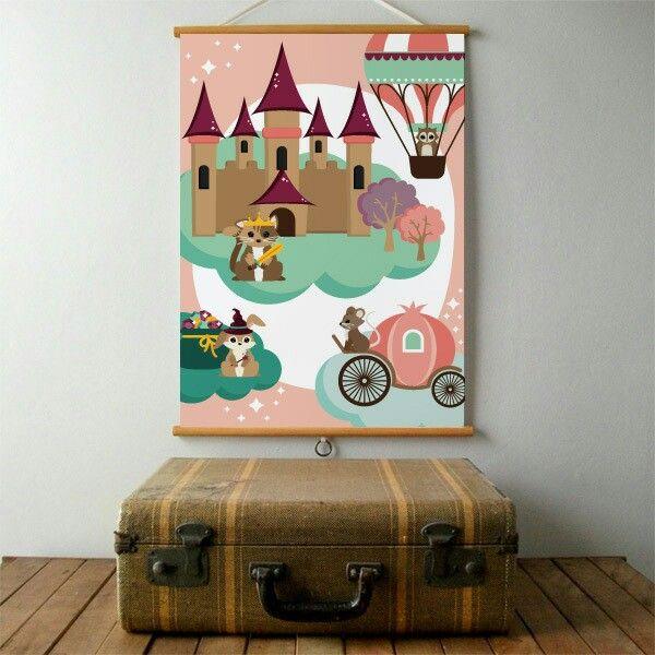 Poster Sprookje Oktoberdots ● Troetel.com