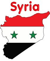 Syria Flag - colors meaning history of Syria Flag