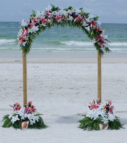 34 best wedding arches decoration ideas images on pinterest decor seashell and floral arches wedding arbor ideas beach junglespirit Image collections