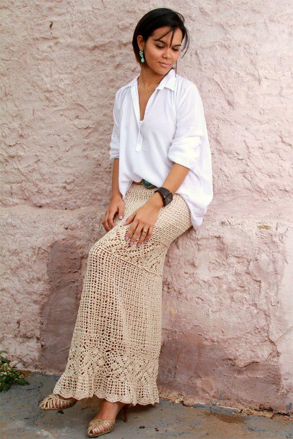 Glamour e Glacê: Tendência: Crochet Get Inspired