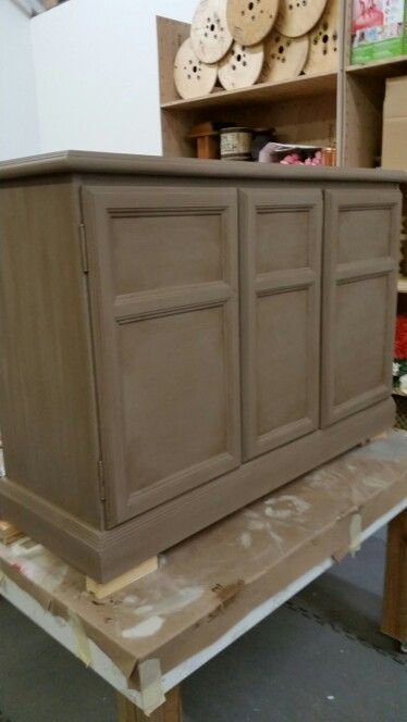 Rustically Refined Llc Coco With Dark Wax Chalk Paint
