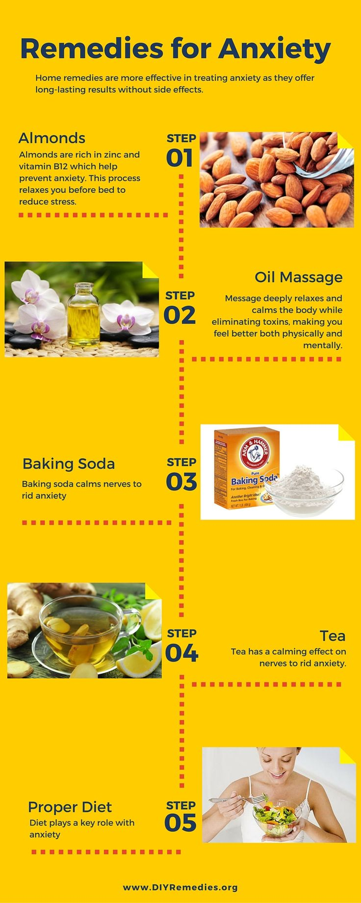 Home remedies are more effective in treating anxiety as they offer long-lasting results without side effects.