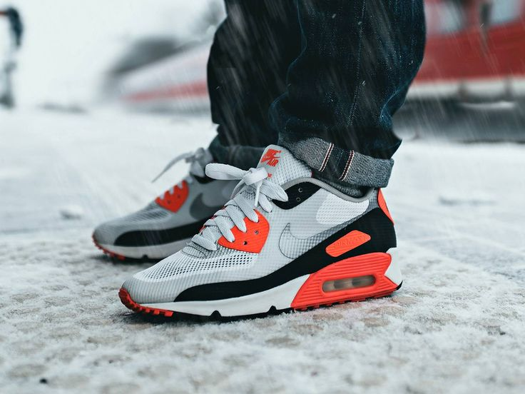 Nike Air Max 90 Hyperfuse 'Infrared' - 2012 (by... – Sweetsoles – Sneakers, kicks and trainers. On feet.