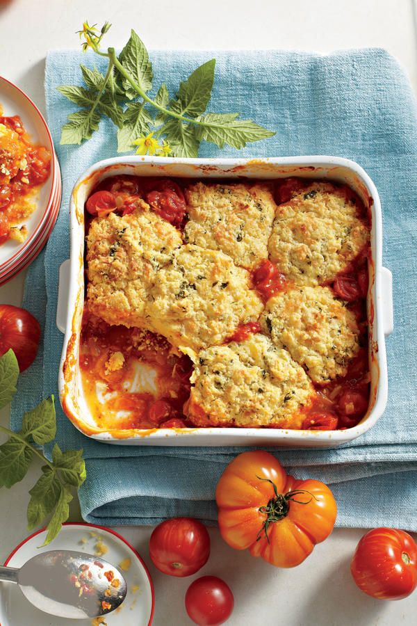 Tomato Pie Recipes: Savory Tomato Cobbler Recipe