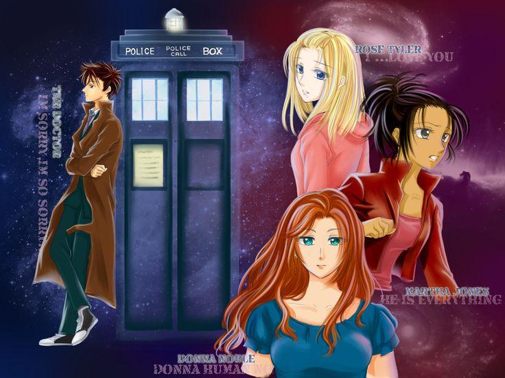 Rose Tyler Tardis Doctor Who Martha Jones Donna Noble