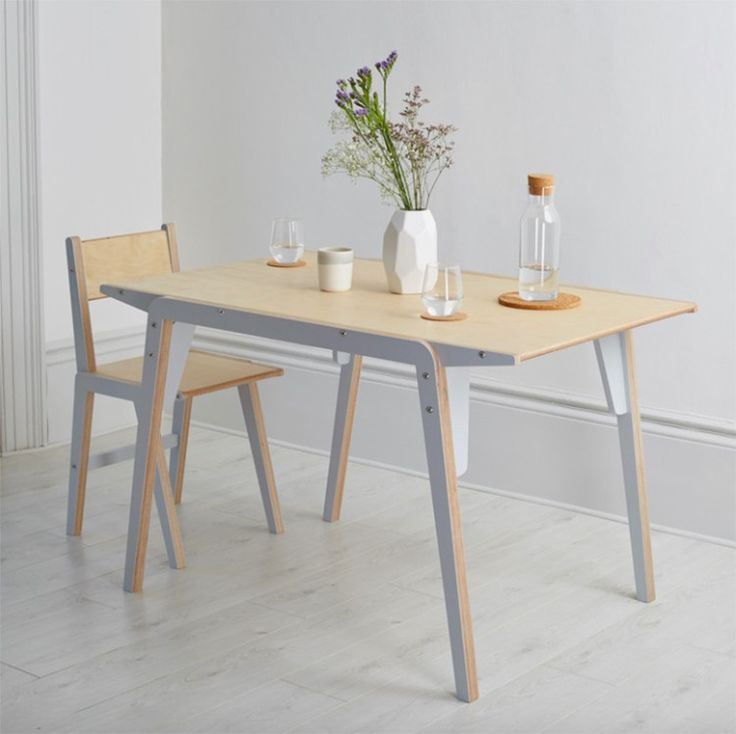 The Flac dining table from Lycan Design responds as a solution to cramped city living