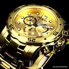 Mens Invicta Pro Diver Scuba Gold Plated Steel Chronograph Swiss Parts Watch New http://www.deepbluediving.org/best-dive-computers-for-beginners/