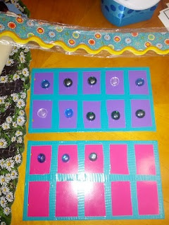 Homemade Ten Frame: Homemade Ten, Dollar Spots, Kinder Sprouts, Ten Frames, Magnets Boards, Math Ideas, Magnets Ten, Target Dollar Spot, Calendar 10 Frames