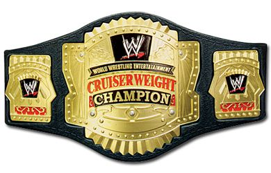 WWE Cruiserweight Championship Belt Go for the gold and become WWE Cruiserweight Champion! http://www.comparestoreprices.co.uk/action-figures/wwe-cruiserweight-championship-belt.asp