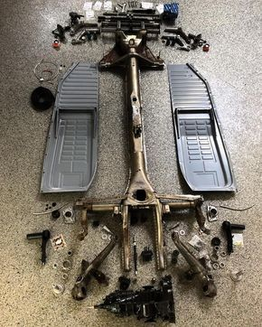 #Preperation for the #ECOchassis has begun - $4995 for a complete #Airkewld Chassis featuring a #Shockless #PRObuilt beam, new pan halves from #WolfsburgWest, freeway flyer transaxle, #AdjustableSpringPlates all built in the #RAW and painted...