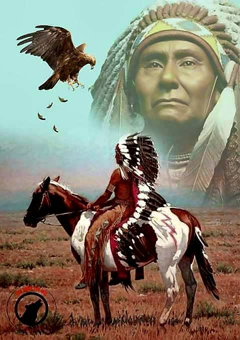 Native American Art. Artist Unknown.