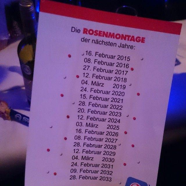 Planung ist alles #Planungistalles #Todo #Rosenmontag #karneval #Kalender # Planung #planing #kommholdenkalenderraus #alaaf #Sitzung #köln #maritim #bonn