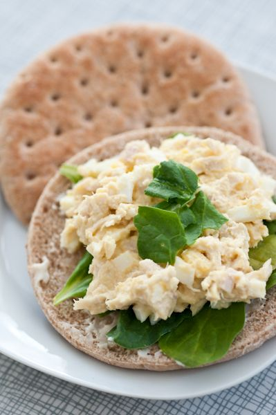 Sandwich Thins de huevo revuelto