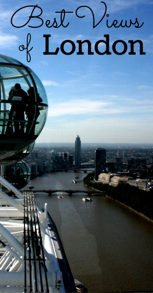 Best Free Views of London, United Kingdom.  Make the most of London without breaking the bank!  #London #VisitLondon