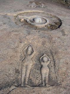 ufo on rock in bolivia - Google Search
