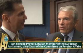 Fiorello Provera, AP Brüksel Dış İlişkiler Komitesi Asbşkn. Video