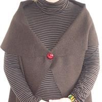 Veste en laine bouillie femme Patron couture gratuit