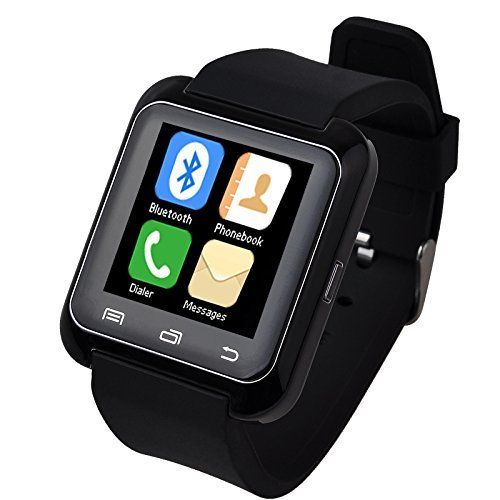 Luxury U80 Bluetooth 4.0 Smart Watch Wrist Wrap Watch Phone for IOS Apple iphone 4/4S/5/5C/5S Android Samsung S2/S3/S4/S5/Note 2/Note 3 HTC (U80 Black)  #2note #44s55c5s #android #Apple #Black #Bluetooth #iPhone #Luxury #phone #s2s3s4s5note #Samsung #Smart #Watch #wrap #Wrist MonitorWatches.com
