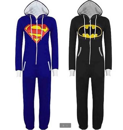 girl teen superhero footie pajamas - Google Search