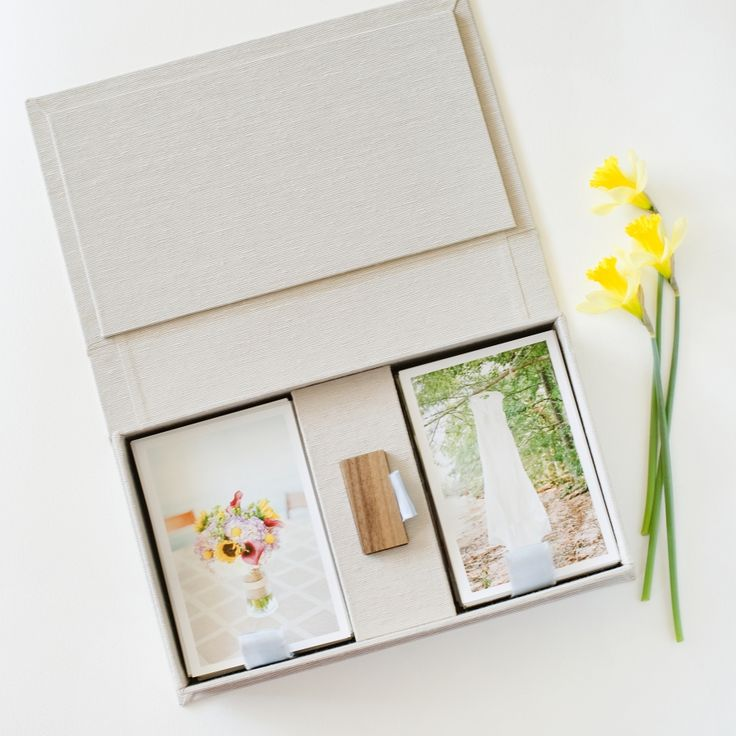» Peach Linen | Packaging for Photographers