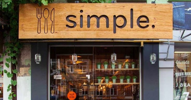 Simple Cafe Aydınlatma