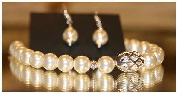 Tridacna Pearls & Sterling Silver